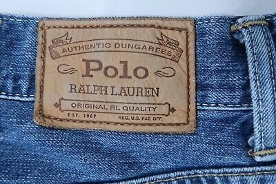 NEW Polo Ralph Lauren Hampton Relaxed Stretch Mens Jeans Black 36x32 36x34 NWT