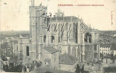 Cp Narbonne Cathedrale Saint-Just