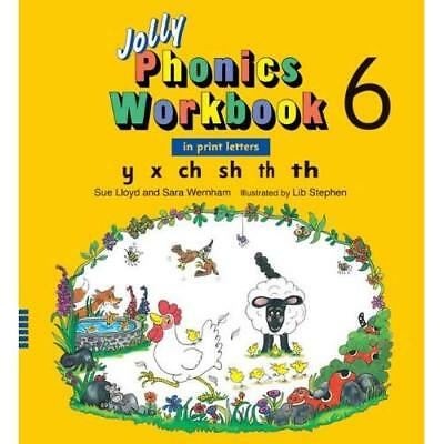Jolly Phonics Workbook 6 - Paperback NEW Sue Lloyd 2008-01-31