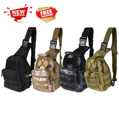 Durable Outdoor Shoulder Military Tactical Backpack Camping Hiking Trekking Bags