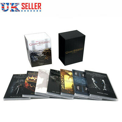 UK GAME OF THRONES The complete Season1 2 3 4 5 6 7 New Sealed DVD 34 Disk Sets