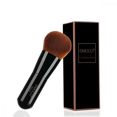 Flat Makeup Kabuki Brush Professional Make Up Face Foundation Stippling...