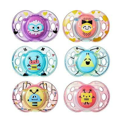 Tommee Tippee Closer to Nature Fun Style Soothie Baby Pacifier, BPA-Free...
