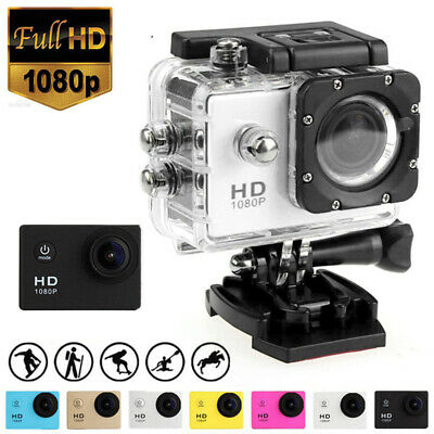 Pro Action Camera 4K 1080P Camcorder Waterproof Sport Video DV Go Underwater KIT