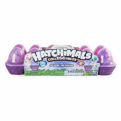 Hatchimals CollEGGtibles 12 Pack Egg Carton with Exclusive Season 4 Hatch Bright