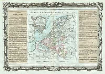 1786 Desnos and de la Tour Map of Belgium and Luxemburg