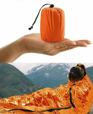 NEW Sleeping Bag Emergency Bivvy Bag Rescue Survival Emergency Blanket Reusable