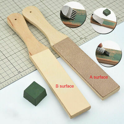 Dual Sided Leather Blade Leather Kit Polishing Sided Blade Tool