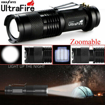 Ultrafire Tactical 20000Lumens LED Flashlight Torch Lamp Light T6 Zoom 14500