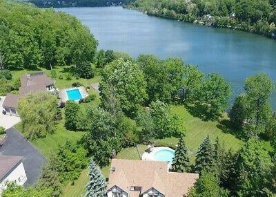 PRIME NEW YORK REAL ESTATE LAND FOR SALE 2 LOTS at LAKE w BOATING & FISHING GOLF