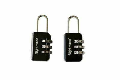 3 digit PadLock Secure Suitcase Travel Luggage Personal Safety Security Locker