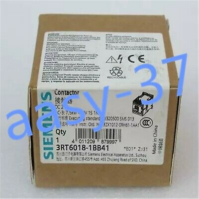 1 PCS NEW IN BOX SIEMENS contactor 3RT6018-1BB41