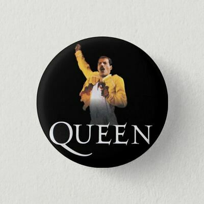 Chapa Pin Badge Button Brooch MUSIC ROCK, POP, HEAVY METAL, QUEEN