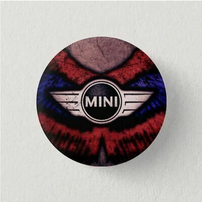IMAN Nevera Chapa Button Pin Fridge Magnet MINI COOPER S