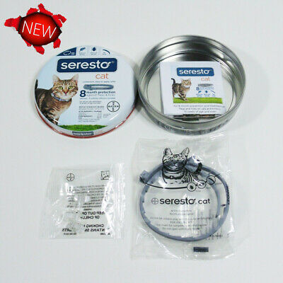 New!Bayer Seresto Flea and Tick Collar for Cats ! Free Shipping !!!