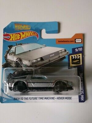 Back To The Future Time Machine Hot Wheels 2019 HW Screen Time 9/10 Mattel