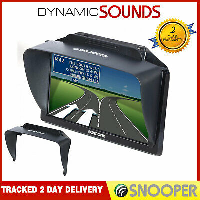 """Snooper 7"""" Sunshade/Screen Protector For S6400 S6800 S8000 DB8500 C8200 C8500"""