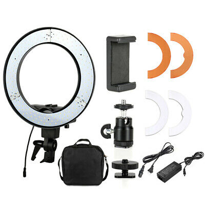 18 Inch LED Ring Light 5500K Dimmable Lighting Kit for Makeup Phone Camera USA