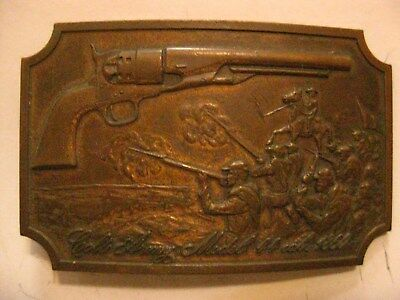 Colt Firearms Brass Belt Buckle 1860 Army Second Edition