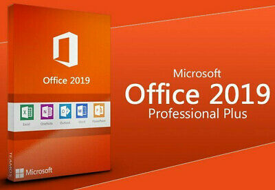 Microsoft Office 2019 Professional Pro PLUS License - 5 Devices
