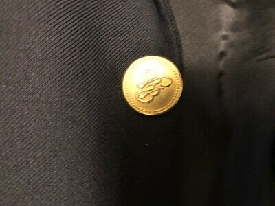 """Brooks Brothers /""""346/""""  Metal Main Front Replacement Button .75/"""""""