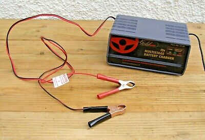 Gunson's 4138 Multistage 12v Automatic Battery Charger ~ Free UK Post