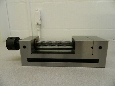 "Interstate Toolmaker's Vise 3-7/8"" Jaw Width 4-3/4"" Jaw Opening Cap 09287731"