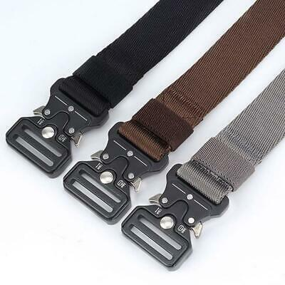 Tactical Belt Cobra Quick Release Buckle Outdoor Nylon Belt Caudura Military