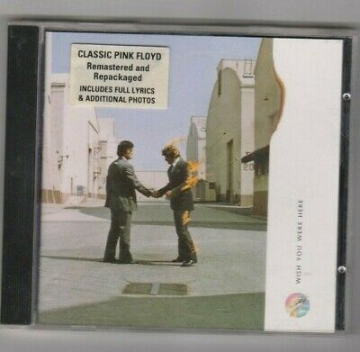 Pink Floyd - Wish You Were Here   CD   (1975, remastered 1992)