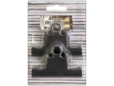 Bci Crafts Bci25163  Bull Clips 75Mm Silver 2Pc