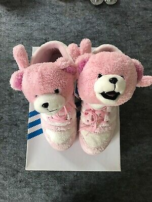 competitive price 5d2b0 be96e Adidas Jeremy Scott Js Bear G44001 Size 10 Legacy Pink Teddy Bear Rare  Original
