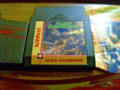 Alien Syndrome Nintendo Nes Game With Booklet And Case