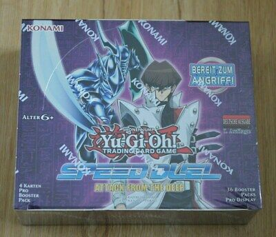 Yu-Gi-Oh! Speed Duel 2 Attack from Deep 36 Booster Display German 1st Edition