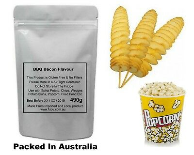 Popcorn Seasoning Bbq Bacon 120G All Natural No Chemicals Or Fillers