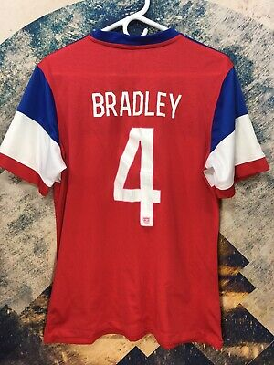 f6bdc6de9 Michael Bradley 2014 USA National Team Nike  4 Soccer Jersey Men s XL XLarge