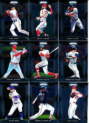 2019 Panini Prizm - TIER II 2 BASE CARDS SP #s 101-200 - U Pick From List