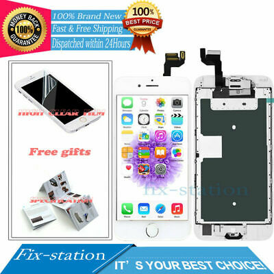 For iPhone 6S Screen Replacement LCD Display Touch Digitizer Full White +Button