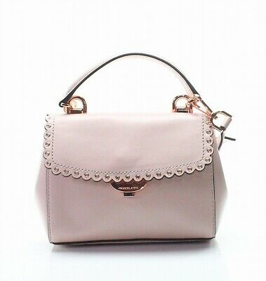 f0890db008a19b Michael Kors NEW Soft Pink Rose Gold Extra Small Crossbody Leather Bag  $228-#056