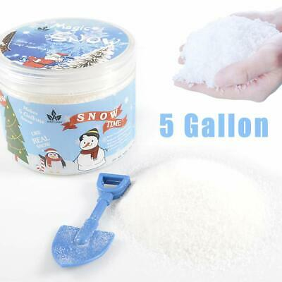 Instant Snow Fake Snow Powder for Cloud Slime, Makes 5 Gallons of ArtificialSnow