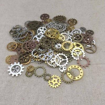 Mixed Vintage DIY Steampunk Watch Parts Jewellery Cogs & Gears