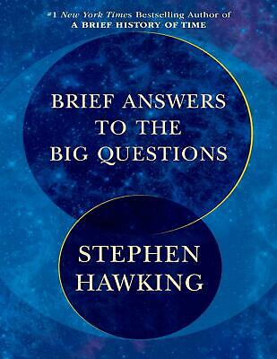 Brief Answers to the Big Questions 2018 - Stephen Hawking (E-B0K&AUDI0|E-MAILED