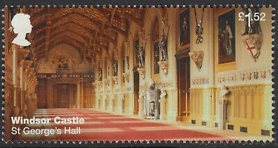 Windsor Castle - St George's Chapel Illustrated On  2017 Gb Unmounted Mint Stamp