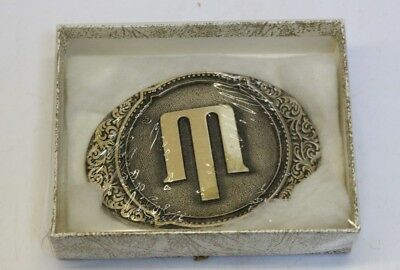 O.C. Tanner Solid Brass Belt Buckle #4