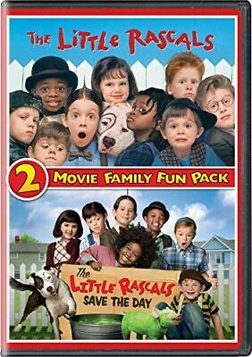 Little Rascals 2 Movie Family Fun Pack New Dvd