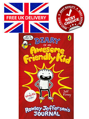 Diary of an Awesome Friendly Kid by Jeff Kinney Hardcover Book