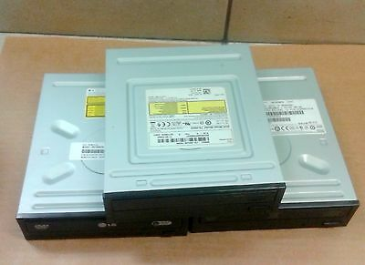 Lot of 3 Desktop computer DVD RW  burner reWriter optical drives ~  SATA