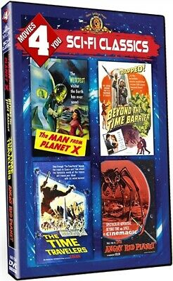 MOVIES 4 YOU SCI-FI CLASSICS New DVD Planet X Time Travelers Angry Red Planet