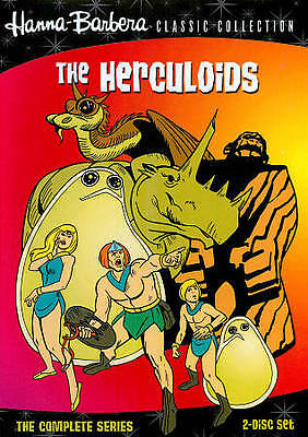 THE HERCULOIDS COMPLETE SERIES New 2 DVD Warner Archive