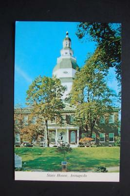 323) Annapolis Md ~ 1772 Colonial State House ~ Oldest Such Structure In The Usa