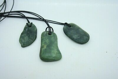 Pounamu New Zealand Greenstone All 3 FOR ONE SMALL PRICE BUY NOW